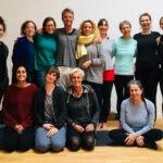Gruppenfoto Workshop Christian Klix bei yoga 1a